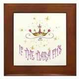 TIARA QUEEN Framed Tile