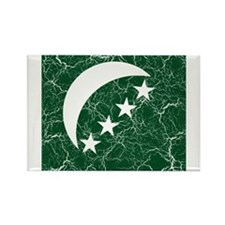 Comoros Roundel Rectangle Magnet (10 pack)