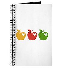 Apple Hearts Love to Teach Journal