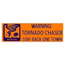 Tornado Chaser Bumper Bumper Sticker