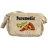 Paramedic Fueled By Pizza Messenger Bag