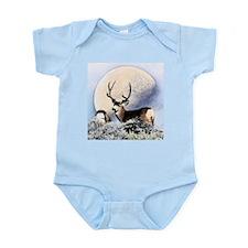 Buck deer moon Infant Bodysuit