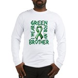 I Wear Green for my Brother.png Long Sleeve T-Shir