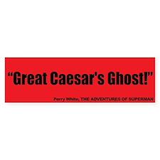 Great Caesar's Ghost - Superman Bumper Sticker
