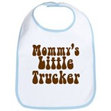 Mommys Little Trucker Bib