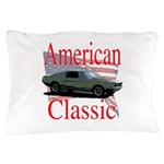 mustang fstbck Pillow Case