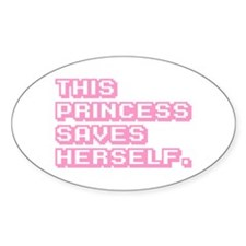 Feminist Princess Decal