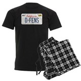 D-FENS (Falling Down license plate) Pajamas