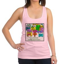 yardsale.png Racerback Tank Top