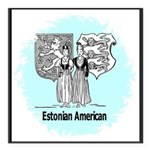 Estonia4.jpg Square Car Magnet 3
