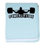 Powerlifting baby blanket