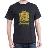 De Witt Drawing Black T-Shirt