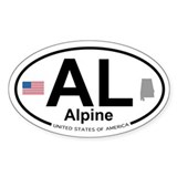 Alpine Decal