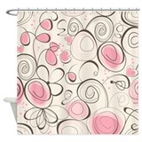 Romantic Pattern Shower Curtain