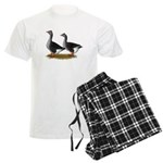 Tufted Toulouse Geese Men's Light Pajamas