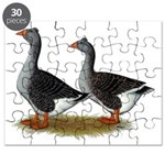 Tufted Toulouse Geese Puzzle