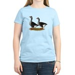 Tufted Toulouse Geese Women's Light T-Shirt