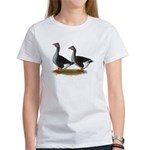 Tufted Toulouse Geese Women's T-Shirt