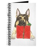 Christmas German Shepherd Journal