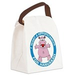 FIN-hippopotamus-for-hanukkah.png Canvas Lunch Bag