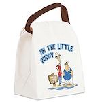 FIN-little-buddy.psd Canvas Lunch Bag