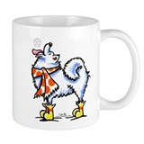 Samoyed Snowflake Mug
