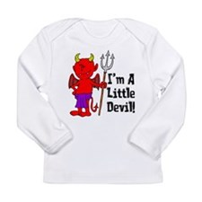 Im A Little Devil Long Sleeve Infant T-Shirt