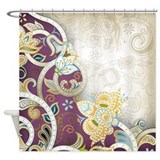 Vintage Pattern Shower Curtain