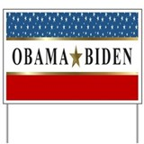 Obama Biden 2012 Star Yard Sign