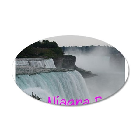 NIAGRA FALLS X™ 20x12 Oval Wall Decal