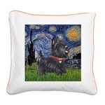 Starry - Scotty (#15) Square Canvas Pillow