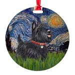 Starry - Scotty (#15) Round Ornament