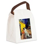 Cafe-AnatolianShep2 Canvas Lunch Bag