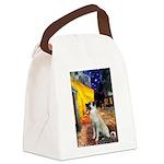 Cafe-AnatolianShep2 Canvas Lunch Bag