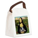 MonaLisa-AussieCattle Pup Canvas Lunch Bag