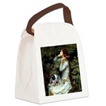 Ophelia - Aussie Cattle Pup Canvas Lunch Bag