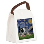 Starry-AussieCattleDogPup Canvas Lunch Bag