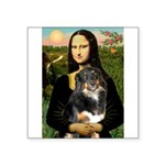 MonaLisa-Aussie Shep (Tri-L) Square Sticker 3