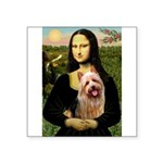 5.5x7.5-Mona-AussieTERRIER.PNG Square Sticker 3