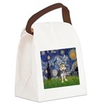 Starry-AussieTerrier2 Canvas Lunch Bag
