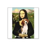 Mona's Beagle #1 Square Sticker 3
