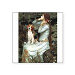 Ophelia & Beagle Square Sticker 3