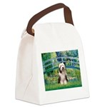 Bridge / Beardie #1 Canvas Lunch Bag