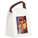 Angel / Bedlington T Canvas Lunch Bag