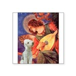 Angel / Bedlington T Square Sticker 3