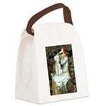 Ophelia / Bedlington T Canvas Lunch Bag