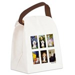 FamousArt-BichonFrise-CLEAR.png Canvas Lunch Bag