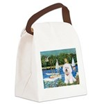 Sailboats (1) Canvas Lunch Bag