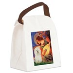 Mandolin Angel & Bolognese Canvas Lunch Bag