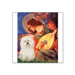 Mandolin Angel & Bolognese Square Sticker 3